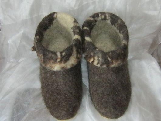 Обувь ручной работы. Ярмарка Мастеров - ручная работа. Купить Чуни Любимые. Handmade. Неокрашенная шерсть, микропора, флис