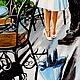 Город ручной работы. Ярмарка Мастеров - ручная работа. Купить картина маслом СВИДАНИЕ. Handmade. Голубой, влюбленная пара