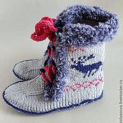 Обувь ручной работы. Ярмарка Мастеров - ручная работа Угги домашние Скандинавия - 1. Handmade.
