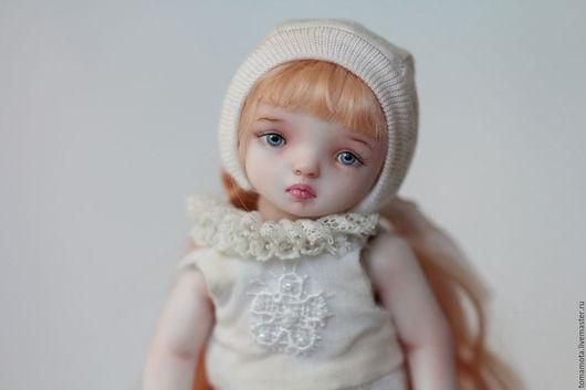 Коллекционные куклы ручной работы. Ярмарка Мастеров - ручная работа. Купить White Royal pawn. Handmade. Белый, коллекционная кукла