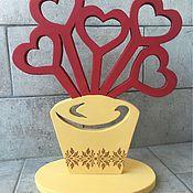 Для дома и интерьера ручной работы. Ярмарка Мастеров - ручная работа Фоторамка ваза. Handmade.