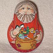 """Куклы и игрушки ручной работы. Ярмарка Мастеров - ручная работа Неваляшка """"Дед Мороз"""". Handmade."""