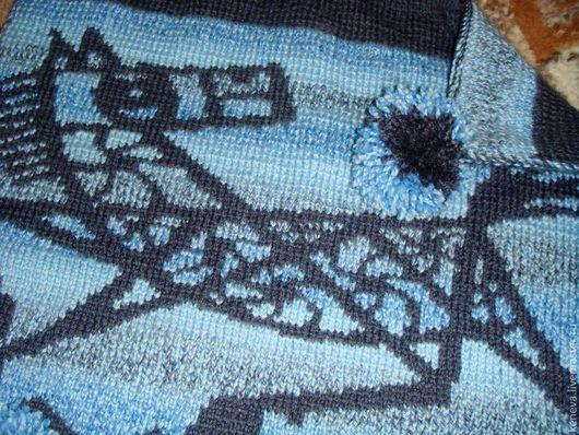 Кухня ручной работы. Ярмарка Мастеров - ручная работа. Купить Вязаное сиденье Мой год. Handmade. Тёмно-синий, сиденье на стул