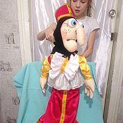 Куклы и игрушки handmade. Livemaster - original item Baba Yaga. Tablet puppets. Handmade.