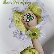Куклы и игрушки ручной работы. Ярмарка Мастеров - ручная работа Улитка в горшочке. Handmade.