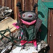 Куклы и игрушки ручной работы. Ярмарка Мастеров - ручная работа Мотылек Айк. Handmade.