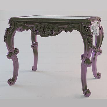 Мебель ручной работы. Ярмарка Мастеров - ручная работа Стол из бука (№082). Handmade.
