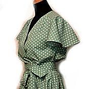 Одежда ручной работы. Ярмарка Мастеров - ручная работа Платье Назад в 50-е. Handmade.