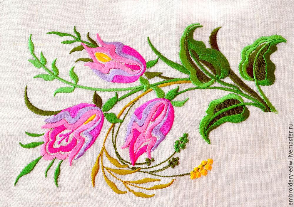 Дизайн цвета для вышивки