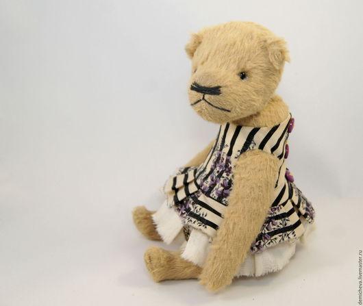 Мишки Тедди ручной работы. Ярмарка Мастеров - ручная работа. Купить Стеша. Handmade. Мишка, милый подарок, бежевый