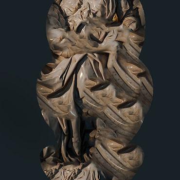 Для дома и интерьера ручной работы. Ярмарка Мастеров - ручная работа Скульптуры: Вечность. Handmade.