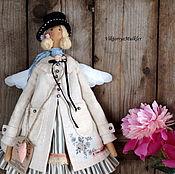 Куклы и игрушки ручной работы. Ярмарка Мастеров - ручная работа кукла тильда ручной работы АНГЕЛ В ПАЛЬТО. Handmade.