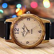 Украшения handmade. Livemaster - original item Wooden watches, women`s watches, oak, 01A3530OO. Handmade.