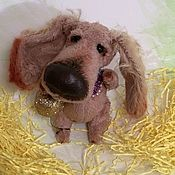 Куклы и игрушки ручной работы. Ярмарка Мастеров - ручная работа Барбос-целовальный нос. Handmade.