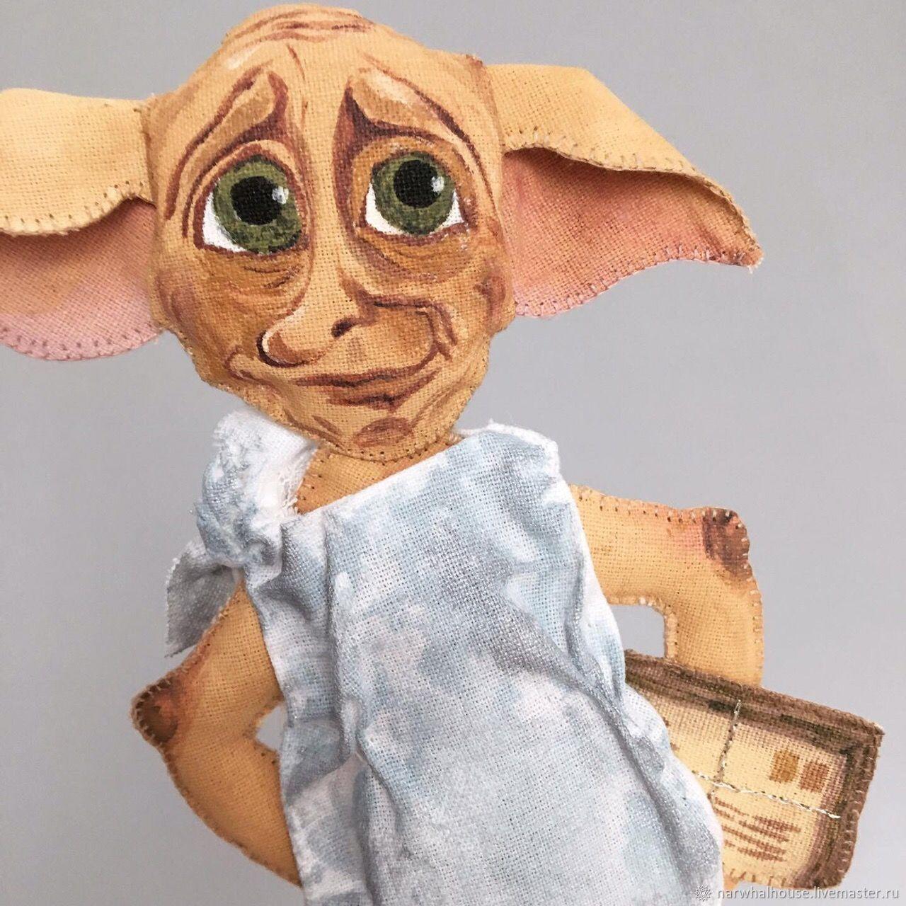 Добби, домашний эльф, Портретная кукла, Челябинск,  Фото №1