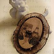 """Украшения ручной работы. Ярмарка Мастеров - ручная работа Брошь Vintage """"О тебе мечтал Париж"""" (продана). Handmade."""