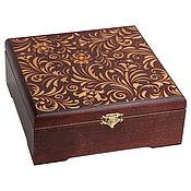 Сувениры и подарки handmade. Livemaster - original item 21217 SHP box 21 21 7 cm for a gift under the storage package. Handmade.