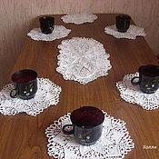Для дома и интерьера ручной работы. Ярмарка Мастеров - ручная работа Комплект салфеток для сервировки стола. Handmade.