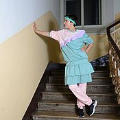 Одежда handmade. Livemaster - original item Girlish track suit 2. Handmade.