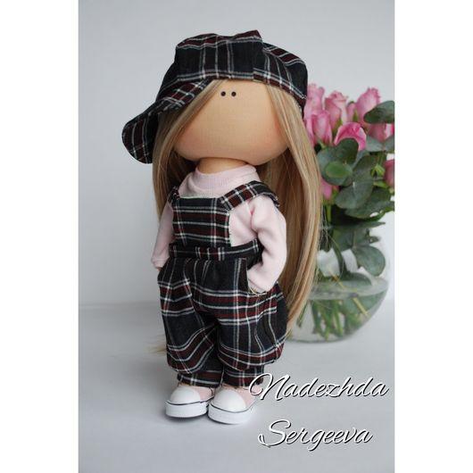 Коллекционные куклы ручной работы. Ярмарка Мастеров - ручная работа. Купить Интерьерная кукла. Handmade. Кукла ручной работы, трикотаж