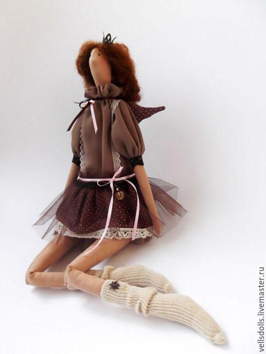 Куклы Тильды ручной работы. Ярмарка Мастеров - ручная работа. Купить Кукла Тильда. Ванильный Ангел. Handmade. Бежевый, ангел