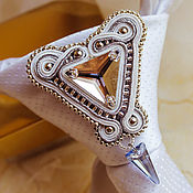 Украшения handmade. Livemaster - original item Brooch unisex tie. jewelry for men. Handmade.