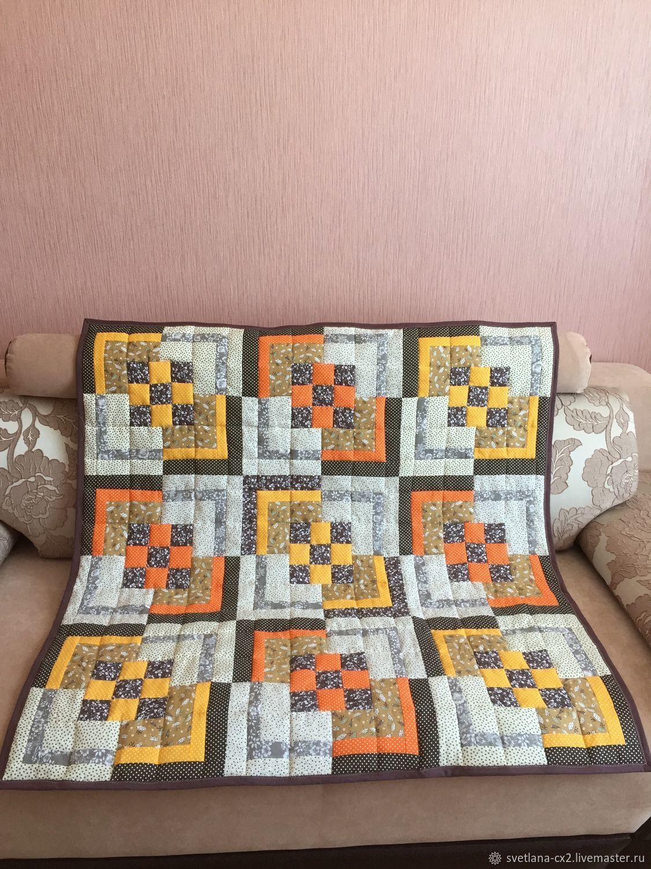 Лоскутное одеяло Солнечный день, Одеяло для детей, Елизово,  Фото №1