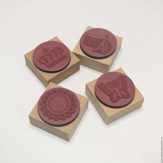 Набор резиновых штампов. (4шт)