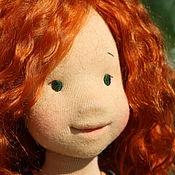 """Куклы и игрушки ручной работы. Ярмарка Мастеров - ручная работа Вальдорфская кукла """"девочка -Лето"""" ,  48см. Handmade."""