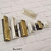 Материалы для творчества handmade. Livemaster - original item Clips for cords and ribbons all sizes!. Handmade.