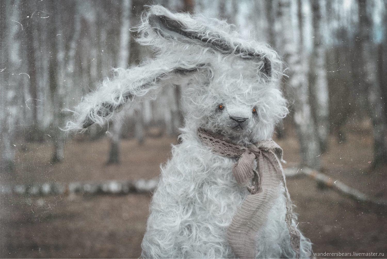 Жемчужный Заяц (32 см), Мишки Тедди, Нижний Новгород,  Фото №1