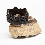 handmade. Livemaster - original item Crown ring from wood. Handmade.