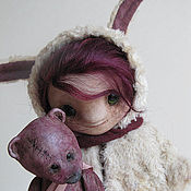 Куклы и игрушки handmade. Livemaster - original item Sue and Hugh. Handmade.