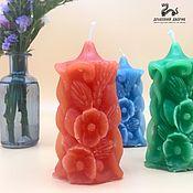 Подарки на 8 марта ручной работы. Ярмарка Мастеров - ручная работа Цветочная свеча Флориана, подарок сувенир. Handmade.