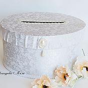 """Свадебный салон ручной работы. Ярмарка Мастеров - ручная работа Коробка для денег """"Bride"""". Handmade."""