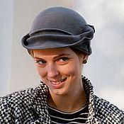 Аксессуары handmade. Livemaster - original item Hat Cloche transformer