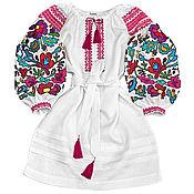 """Одежда handmade. Livemaster - original item Платье-вышиванка """"Цветочная Нимфа"""". Handmade."""