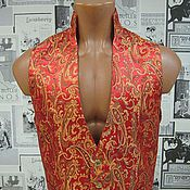 Одежда handmade. Livemaster - original item Mens vest