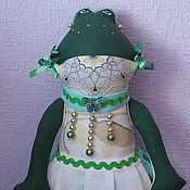 Для дома и интерьера ручной работы. Ярмарка Мастеров - ручная работа Пакетница жабка. Веснянка.. Handmade.