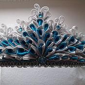 """корона в стиле канзаши """"льдинка"""""""