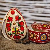 Посуда ручной работы. Ярмарка Мастеров - ручная работа Шкатулка в форме яйца. Handmade.
