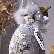 Куклы и игрушки handmade. Livemaster - original item Embroidered coat CHAMOMILE. Handmade.