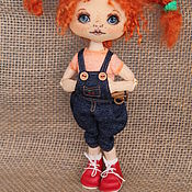 Куклы и игрушки ручной работы. Ярмарка Мастеров - ручная работа Рыжая хулиганка. Handmade.
