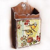 """Для дома и интерьера ручной работы. Ярмарка Мастеров - ручная работа Ключница """"Гнездо"""". Handmade."""