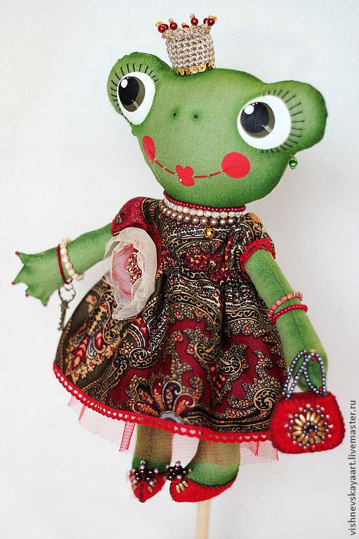 Лягушка кукла своими руками