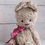 Куклы и игрушки ручной работы. Ярмарка Мастеров - ручная работа Карамельный. Зайка тедди. Handmade.