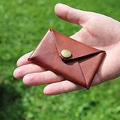 Сумки и аксессуары handmade. Livemaster - original item Card Holder.  Business card holder brown. Handmade.