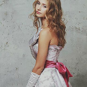 Одежда ручной работы. Ярмарка Мастеров - ручная работа Платье NEW look со съёмным поясом. Handmade.