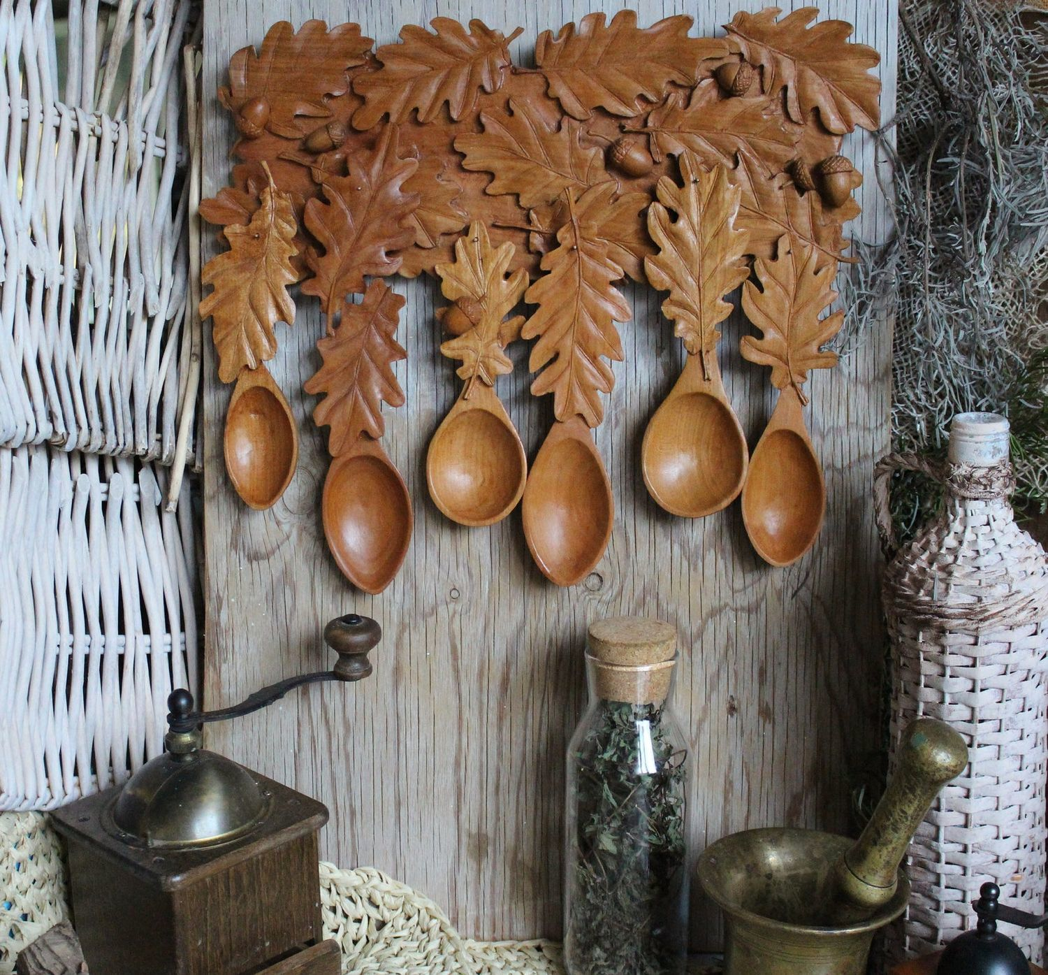 """The set of cherry wood spoons """"The children of the oak tree"""", Kitchen sets, Sochi,  Фото №1"""