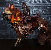 Куклы и игрушки handmade. Livemaster - original item Looking for a home! Qilin guardian N aryasinha, dragon. Handmade.